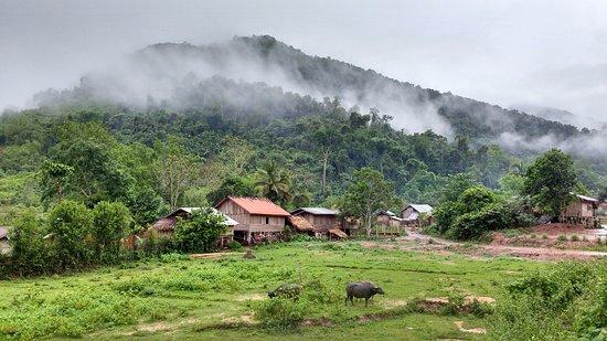 Luang Namtha, Laos: Trekking on Day 2 through local villages