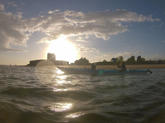 Blairgowrie, UK: Kayaking at Broughty Ferry