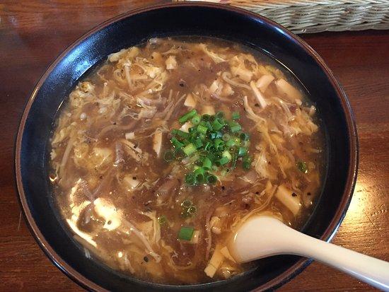Mobara, Japan: 大人気のサンラータンメンです。