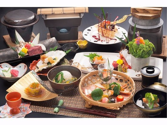 Nikko Hoshinoyado: 和食懐石料理 一例