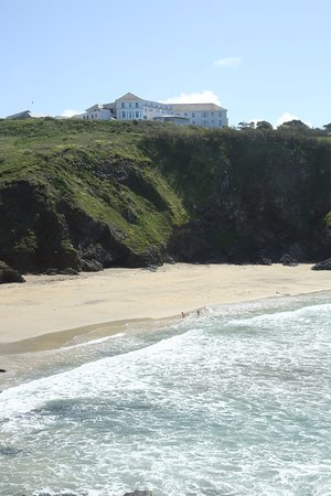 Mullion, UK: View from the beach