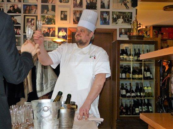 Monteveglio, Italia: Il mastro cuoco