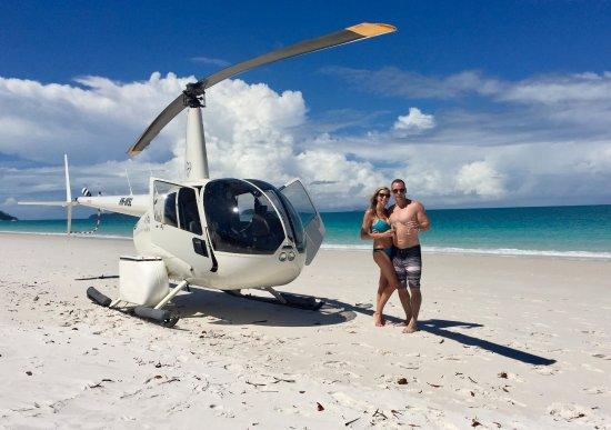 Νησί Χέιμαν, Αυστραλία: Private Helicopter tour to Whitehaven Beach