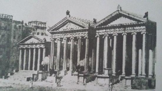 immagine ricostruita da romano impero