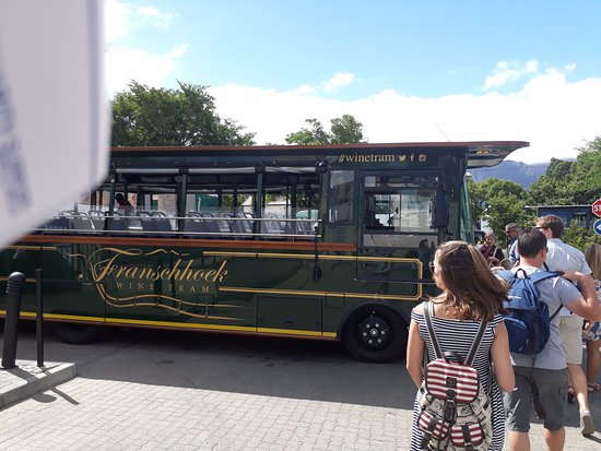Franschhoek Wine Tram: Boarding the Blue Line