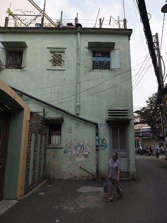 Ramana Hotel Saigon : ホテルから少し歩いた住宅街