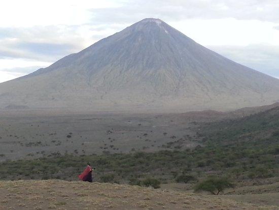 Ol Doinyo Lengai: Oldonyo lengai is one of the active volcanic mountain in Tanzania,by www.africantrekksafaris.co.