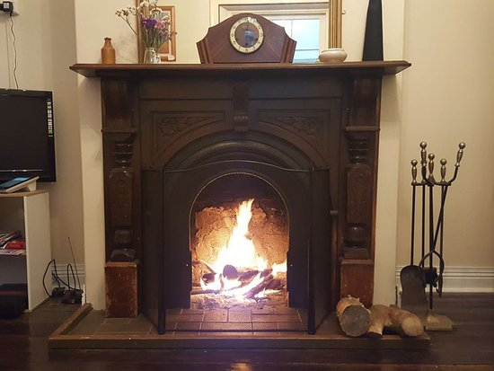 Sorell, Australia: one of the many fireplaces