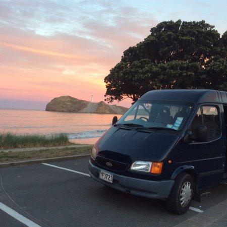 Wairarapa, New Zealand: Castlepoint sunset