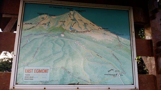 Stratford, Nieuw-Zeeland: Map of area