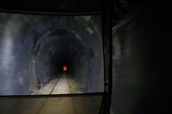 Taumarunui, Nya Zeeland: Tunnel - 1.5KM long.