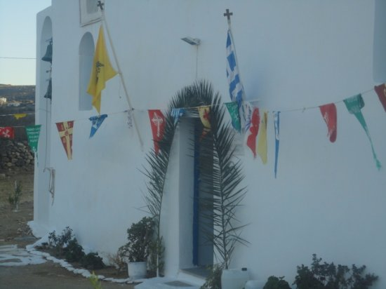 Mikri Vigla, Yunani: Ο Άγιος Ακεψιμάς, μοναδική εκκλησία στον Ελλαδικό χώρο με αυτή την ονομασία, χρονολογείται από 6