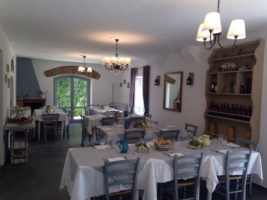 Cave, Italia: ristorante villa etra