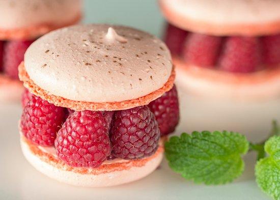 Smaki Warszawy: Raspberry macaron