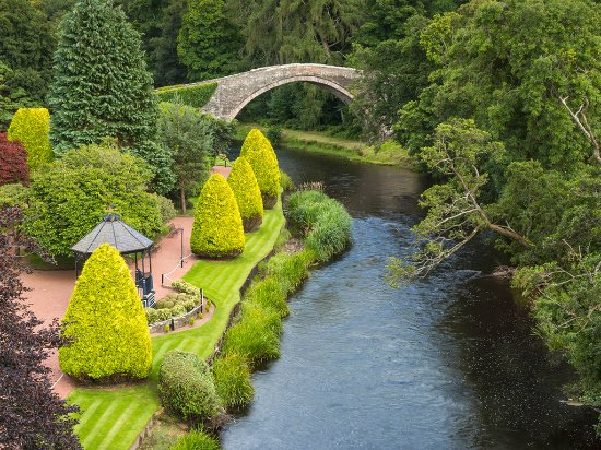 Ayr, UK: The Brig o' Doon in Alloway