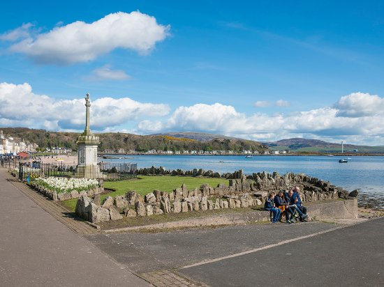 Millport seafront on the island of Great Cumbrae, Ayrshire