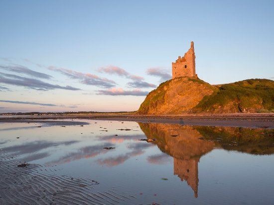 Greenan Castle, near Ayr