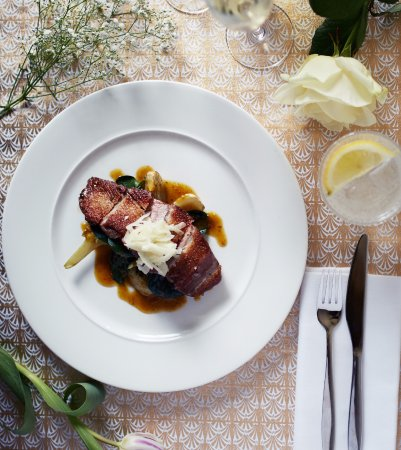 Pan Roast Duck Breast With Braised Fennel And Orange Picture Of