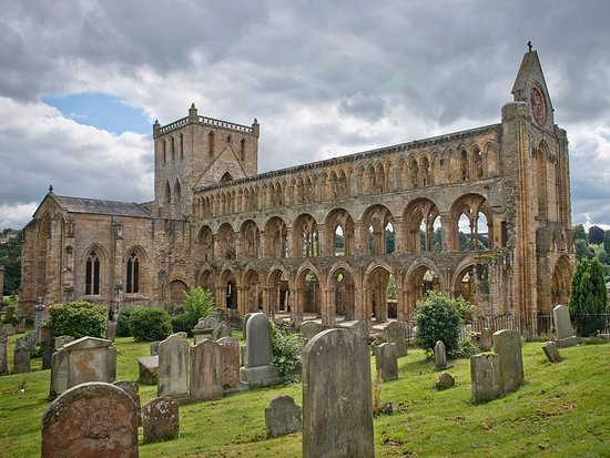 Peebles, UK: Jedburgh Abbey