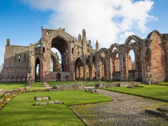Peebles, UK: Melrose Abbey
