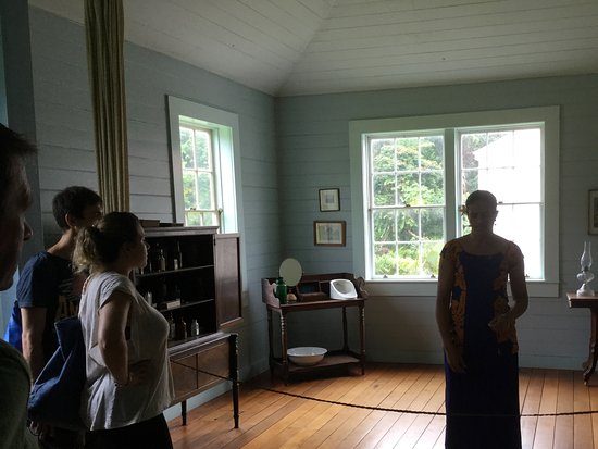 Robert Louis Stevenson Museum: Historical guided tour was great