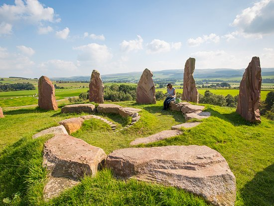 Dumfries, UK: Crawick Multiverse which is an artland visitor attraction
