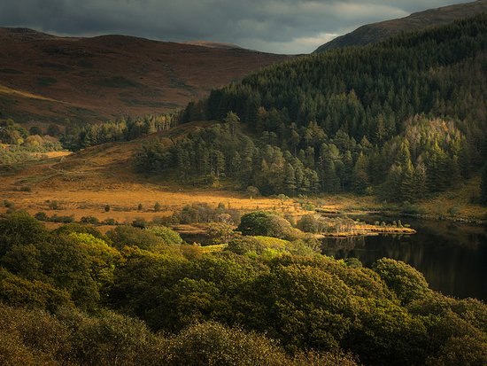 Dumfries, UK: Glen Head, Loch ken