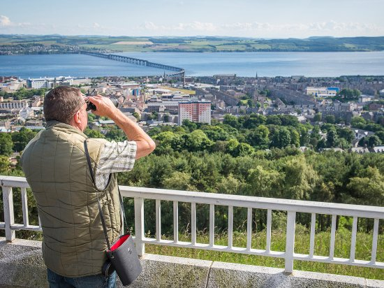 View of Dundee from The Law