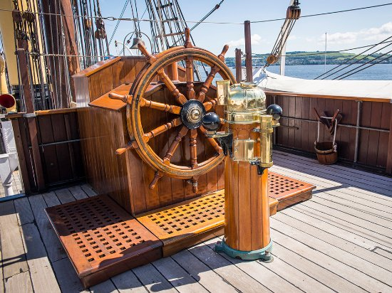 Dundee, UK: Onboard The RRS Discovery