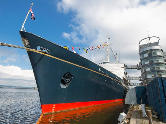 Edinburgh, UK: The Royal Yacht Britannia