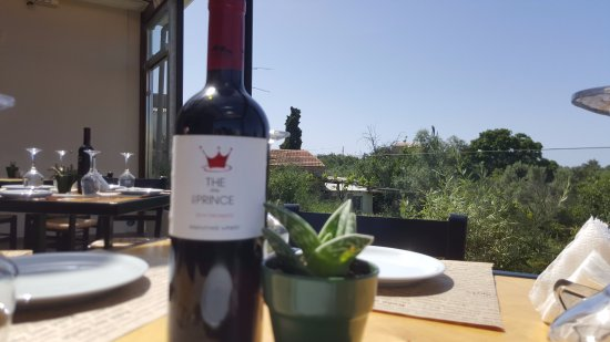 Prines, Greece: Cretan Wine with Chania origins Sit and Serve
