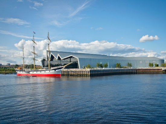 Glasgow, UK: The Tall Ship at Riverside
