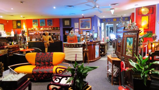 New Norfolk, Australien: Dinning Area & Lounge Bar