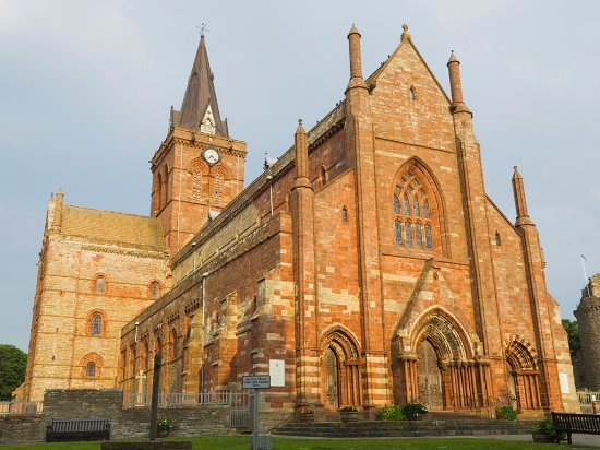 St Magnus Cathedral at Kirkwall, Mainland