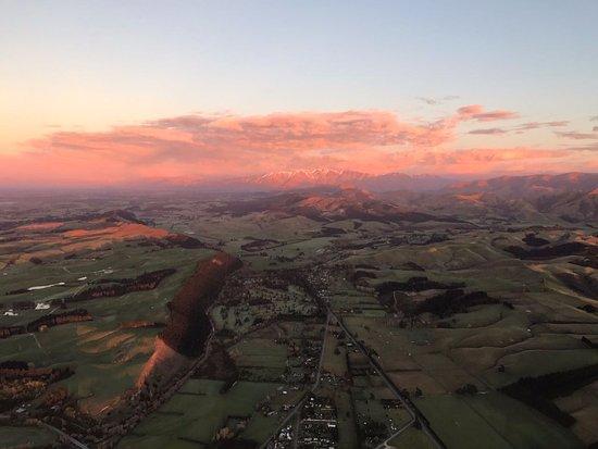 Darfield, Nieuw-Zeeland: Mid air
