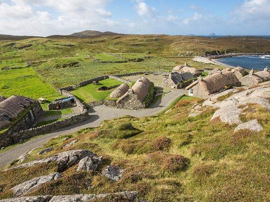 Île de Harris, UK : Gearrannan Blackhouse Village