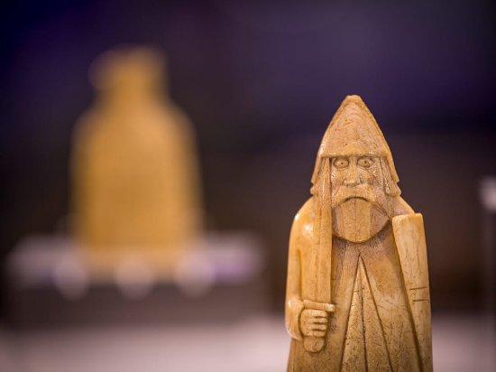 Île de Harris, UK : Uig chessmen