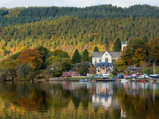 The Perthshire village of Kenmore