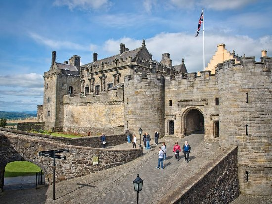 Stirling Castle Esplanade