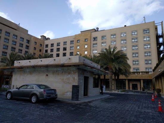 Front Picture Of Intercontinental Amman Amman Tripadvisor