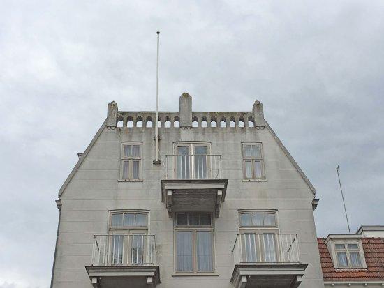 Schiermonnikoog, Belanda: Helemaal bovenin, fantastisch uitzicht en een balkon!