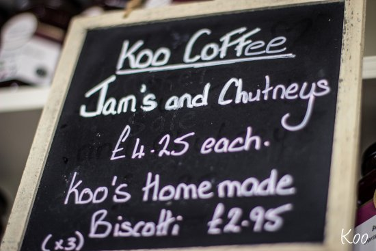 Koo Coffee & Bistro: Koo's Homemade Jam and Chutney