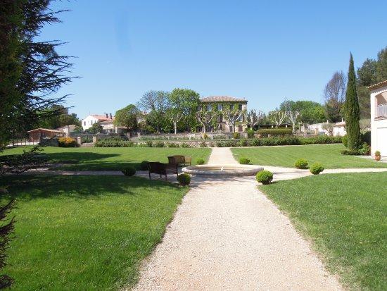 Cabries, Francia: de tuin
