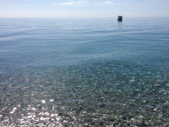 B&B Il Mare degli Dei : Ионическое море