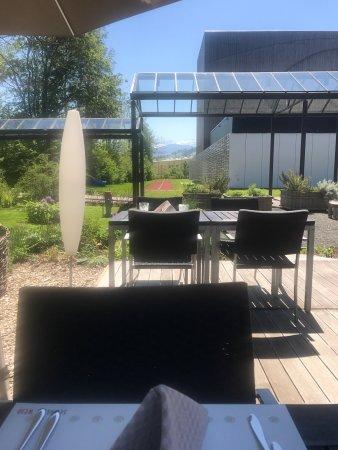 Abtwil, Suisse : Schöne Sicht auf dem säntis