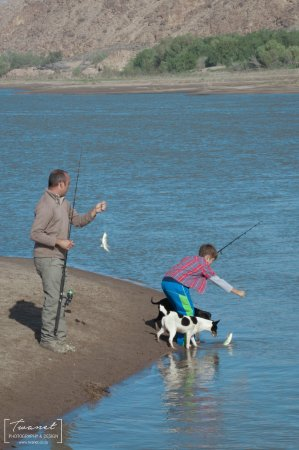 Richtersveld Transfrontier National Park, South Africa: Fishing