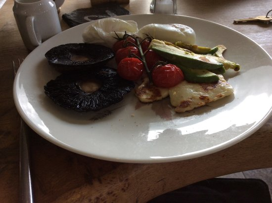 Kippen, UK: Vegetarian and gluten free breakfast