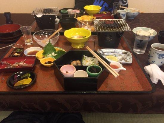 Yamatoya Honten: завтрак