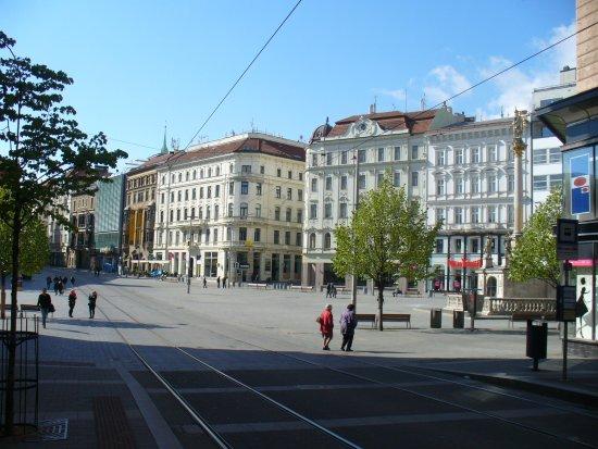 Brno, Republik Ceko: Площадь Свободы