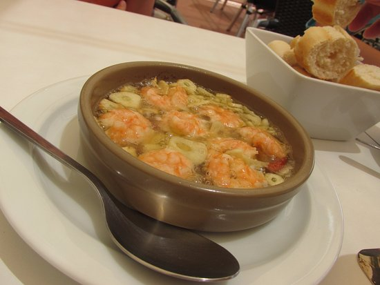 La Playa de Mogan, Spain: Gambas Pil Pil
